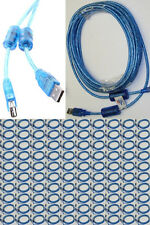 Lot100 20ft long USB2.0 A Male~Female Extension Camera/Webcam/Printer Cable{BLUE
