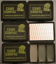 Hunter's Specialties Camo-Compac 3 Color ACU/ABU  Makeup Facepaint Lot of 5