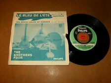 THE BROTHERS FOUR - THE GREEN LEAVES OF SUMMER - 45 PS/ LISTEN - EXOTICA CALYPSO