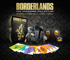 BORDERLANDS THE HANDSOME COLLECTION GENTLEMAN CLAPTRAP IN A BOX - XBOX ONE - NEW