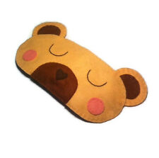 Cute Bear sleep mask Mummy mama female teddy bear Woodland Animal Eye Mask