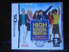 HIGH SCHOOL MUSICAL ¡PREPARATE PARA EL MUSICAL! - NINTENDO DS NDS - VERSION ESPA