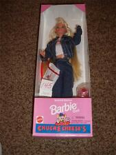 Vintage Barbie Chuck E Cheese 14615 NRFB 1995 Mattel Doll Pizza Special Denim