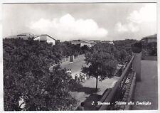 LIVORNO SAN VINCENZO 09 VILLE alla CONCHIGLIA Cartolina FOTOGRAF. VIAGGIATA 1962