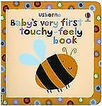 Usborne Baby's Very First Touchy-Feely Book c2010, NEW Board Book
