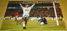 JEAN PIERRE PAPIN BAYERN MUNICH PERSONALLY SIGNED AUTOGRAPH 12X8 PHOTO SOCCER