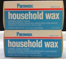 LOT*2  lbs* Parowax Household Wax Paraffin Canning Candle Snow Skis Surf Board