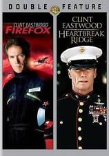 Heartbreak Ridge/Firefox (DVD, 2-Disc Set) Clint Eastwood , New Sealed