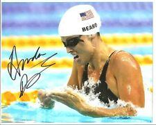 Amanda Beard AUTOGRAPH USA 8x10 PHOTO SIGNED
