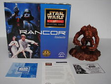 Star Wars 1997 Rancor Statuette Applause Collection Series # 2843 New in Box COA