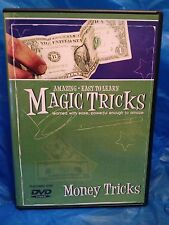 Amazing Easy to Learn Magic Tricks:  Money Tricks - Use Ordinary Money!