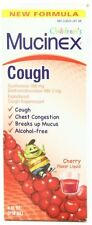 2 Pack Mucinex Children's Expectorant and Cough Suppressant, Cherry, 4 Oz