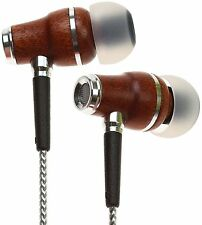 Symphonized NRG 2.0 Genuine Wood In-ear Noise-isolating Headphones (Silver)