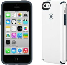 Speck Products CandyShell Case for iPhone 5c - White/Charcoal Grey