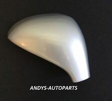 PEUGEOT 207 06 - 2013 WING MIRROR COVER LH OR RH IN GRIS ALUMINIUM