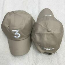 CHANCE THE RAPPER 3 HAT TAN COLORING BOOK USA SELLER MCD DAD HAT CAP