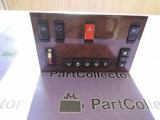 USED MERCEDES W126 380SEC WOOD DASH CONTROL SWITCH PANEL 101897 1983