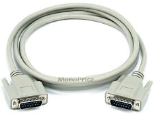 Monoprice 542 6ft DB15 M/M 1:1 Molded Cable - Beige