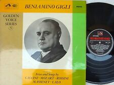 Beniamino Gigli ORIG UK LP Golden voice series 5 EX '67 HMV HQM1075 Mozart Lalo
