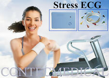CONTEC8000S Stress ECG Systems,wireless Exercise 12Lead ECG Recorder+PC Software