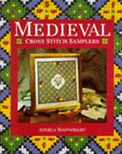 Medieval Cross Stitch Samplers-ExLibrary