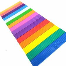 16 x Modelling Clay Strips Colours Children Kids Art Craft Plasticine Play Doh
