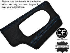 BLUE STICH DASH DASHBOARD HEADLIGHT SWITCH TRIM SKIN COVER FITS BMW Z4 E85 E86