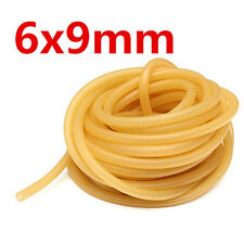 3m 6x9mm Natural Latex Rubber Band for Slingshot Catapult Surgical Tube Elastic