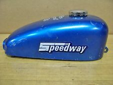 Vintage Speedway Minibike Gas Tank   Blue Angel    Red Baron Green Horn Chopper