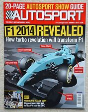 Autosport magazine 9th January 2014