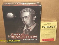 PS3 Deadly Premonition: The Director's Cut Classified Edition New Sealed