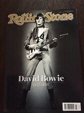 Magazine - Rolling Stone Australian Issue David Bowie Tribute on 17 Pages.