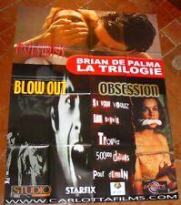 BRIAN DE PALMA - LA TRILOGIE PULSIONS * BLOW OUT * OBSESSION (AFFICHE 120x160)