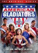 AMERICAN GLADIATORS ORIGINAL SERIES: BATTLE BEGINS - DVD - Region 1 Sealed
