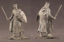 tin toy soldiers unpainted  54mm Medieval German Knight