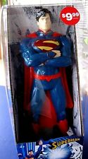 "(NEW) SUPERMAN COIN BANK, DC Comics Universe 13"" Inch Statue Figure"