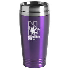 Northwestern University  - 16-ounce Travel Mug Tumbler - Purple