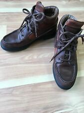 Vintage Timberland 38345  Brown Leather Gore-Tex Ankle  Boots Women's U.S. 8 M