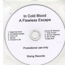 (BW741) In Cold Blood, A Flawless Escape - DJ CD