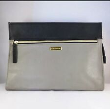 New! Estee Lauder Cosmetic Makeup Bag Zipper Pouch Grey and Black, Nordstrom GWP