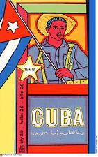 Political cuban POSTER.CUBA by Raul Martinez.ART 48.World Revolution Art