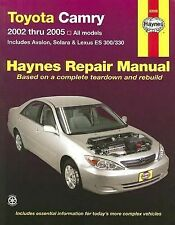 Toyota Camry,Avalon,Solara,Lexus ES300/330 Repair Manual 2002-2005
