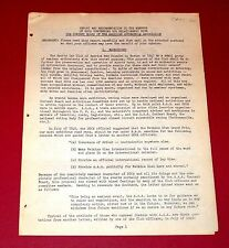 1951 SPORTS CAR CLUB OF AMERICA ( SCCA ) vs AAA CONTEST BOARD - 8 pg proposal