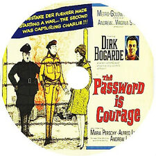 THE PASSWORD IS COURAGE (1962) Dirk Bogarde Alfred Lynch Rare DVD
