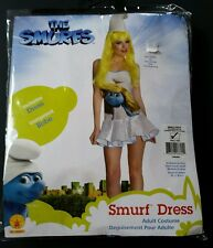 Smurfette Dress The Smurfs Adult Sexy  Classic Halloween Costume Small 2 4 6