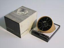 1963 DERBY VOX CLOCK SWISS RARO OROLOGIO DA TAVOLO CON SCATOLA