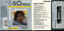 MICHEL SARDOU K7 AUDIO FRANCE 60 MINUTES DE MUSIQUE