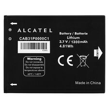 BATTERIA originale Alcatel cab31p0000c1 Akku 1300 mAh 983 990,908 ONE TOUCH