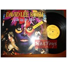 "12"" LP 33 GIRI David Lee Roth EAT 'EM AND SMILE U.S.A. 1986 Warner Bros. - EX/NM"