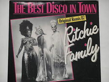 "RITCHIE FAMILY -The Best Disco In Town- 7"" 45 Original Remix '87"